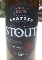 pivo Tesco Finest Stout 4,8%