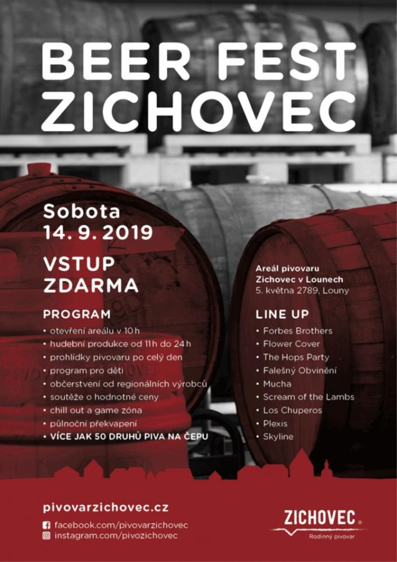 BEER FEST Zichovec 2019 - upoutávka