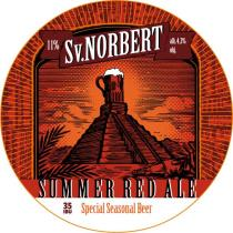 pivo Sv. Norbert Summer Red Ale 11°